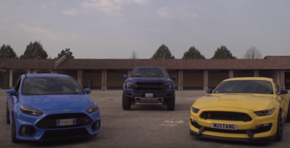 Ford Raptor, Shelby GT350, Focus RS Track & Walkaround