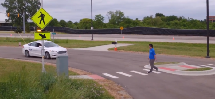 Ford and Lyft Self Driving Cars – Video