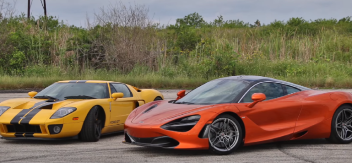 McLaren 720S vs Ford GT Twin Turbo Heffner GT1000 (1)