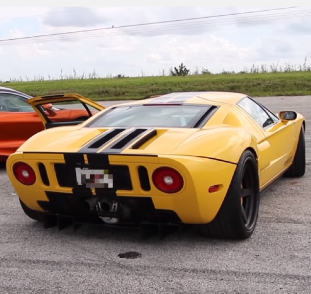 Mclaren S Vs Ford Gt Twin Turbo Heffner Gt