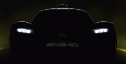 Mercedes AMG Project ONE Teaser