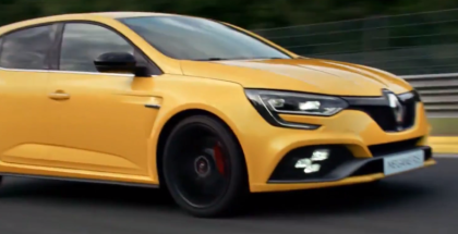 New Renault MEGANE R.S. Driven Hard