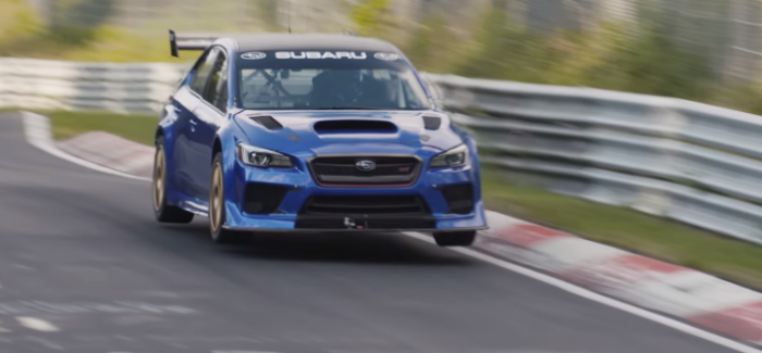 Onboard Footage Of Subaru WRX STI Type RA NBR Special Nurburgring Lap – Video