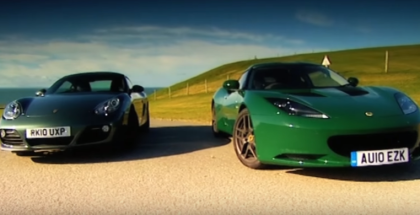 Porsche Cayman VS Lotus Evora (1)