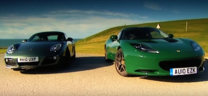 Porsche Cayman VS Lotus Evora – Video