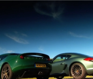 Porsche Cayman VS Lotus Evora (2)