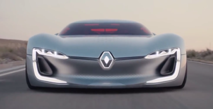 Renault TREZOR Electric Supercar Concept