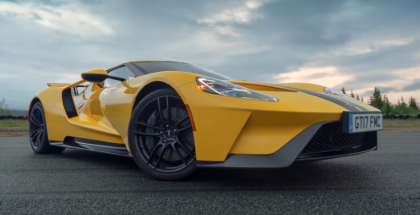 The Ford GT drives the iconic Atlantic Ocean Road in Norway (1)