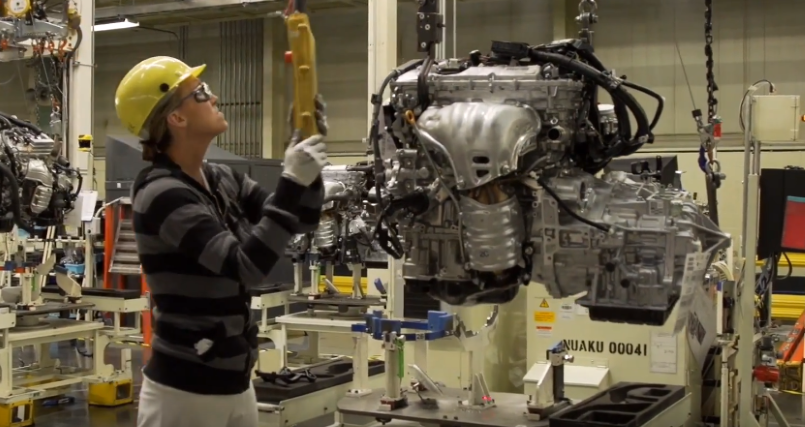 Toyota Hybrid Engine Amp Powertrain Production Factory