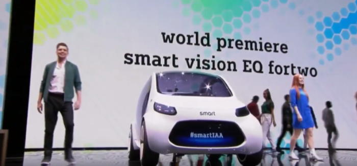 smart vision EQ fortwo Unveiling – Video
