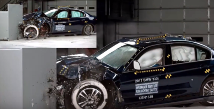 2017 Alfa Romeo Giulia vs 2017 BMW 3 series Crash Test