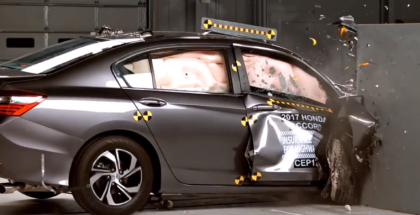 2017 Honda Accord Crash Test