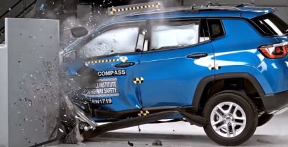 2017 Jeep Compass Crash test & Rating