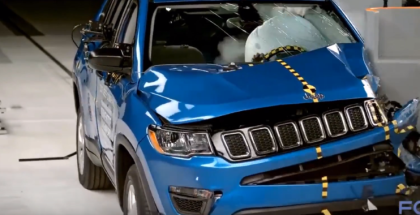 2017 Jeep Compass SUV Named IIHS Top Safety Pick
