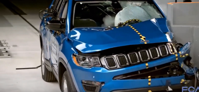 2017 Jeep Compass SUV Named IIHS Top Safety Pick – Video