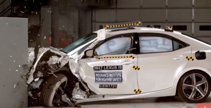 2017 Lexus IS250, IS300, IS350 Crash Test & Rating