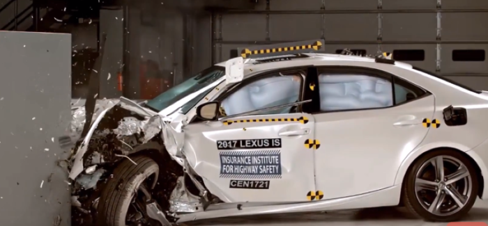 2017 Lexus Is250 Is300 Is350 Crash Test Rating Video