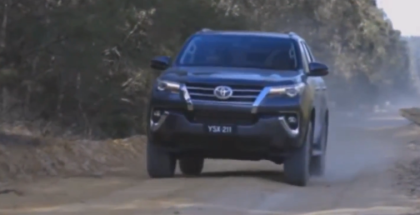 2017 Toyota Fortuner Off-Road Drive & Interior
