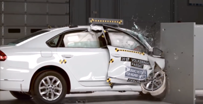 2017 VW Passat Crash Test