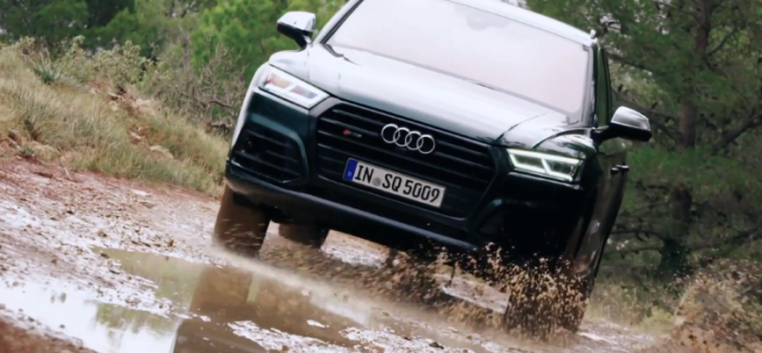 2018 Audi SQ5 Off-Road Test Drive, Walkaround, & Interior – Video