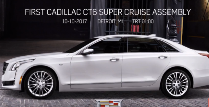 2018 Cadillac CT6 Super Cruise Assembly Factory  (1)