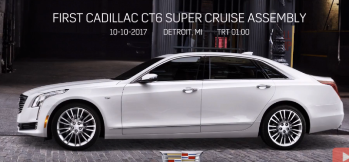 2018 Cadillac CT6 Super Cruise Assembly Factory – Video