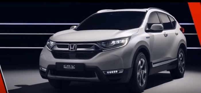 2018 Honda CR-V Hybrid Prototype Explained – Video
