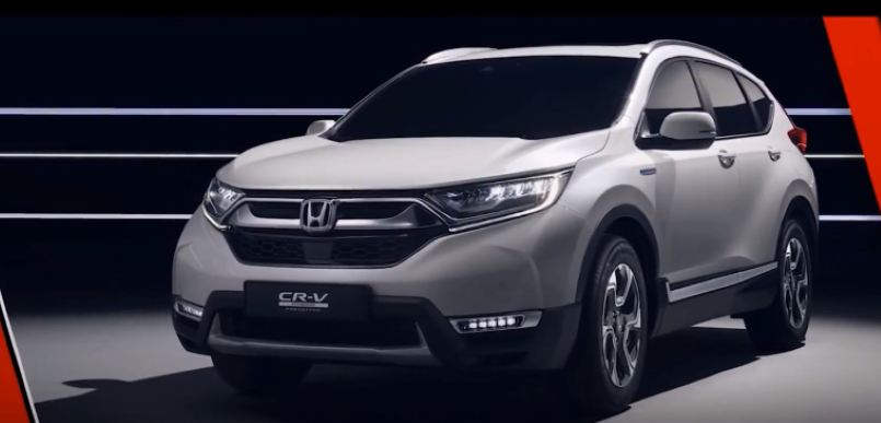 2018 honda cr v hybrid prototype explained video dpccars. Black Bedroom Furniture Sets. Home Design Ideas