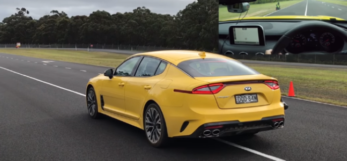 2018 Kia Stinger Drag Racing – Video