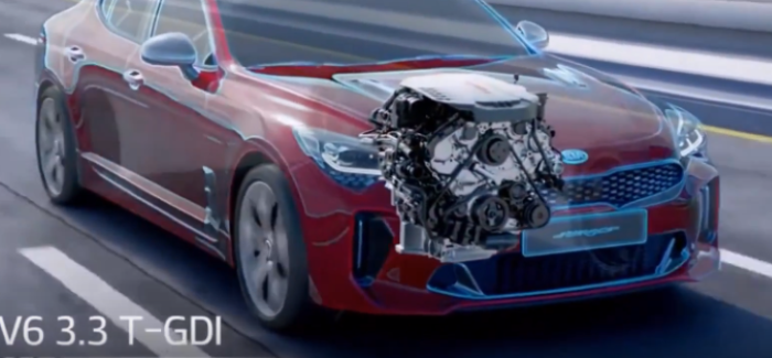 2018 Kia Stinger V6 3.3 T-GDI – Video