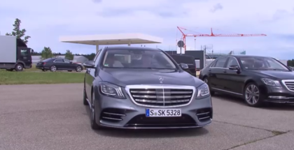 2018 Mercedes S560, S500, S Class Driving Event