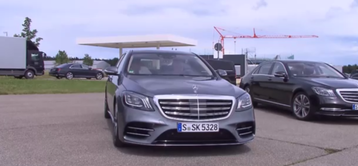2018 Mercedes S560, S500, S Class Driving Event – Video