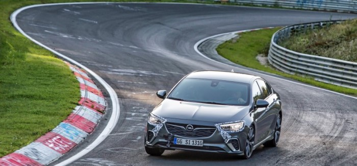 2018 Opel Insignia GSi Development At Nurburgring – Video
