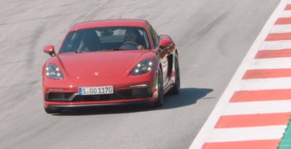 2018 Porsche 718 Boxster GTS & Cayman GTS Canyon, Racetrack Driving Footage