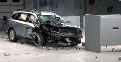2018 Subaru Outback Crash Test & Rating