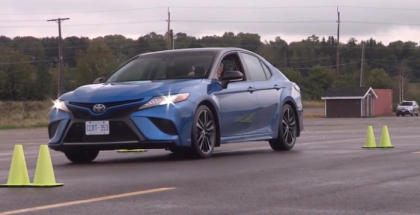 2018 Toyota Camry Canadian Spec Driving Event