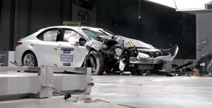 2018 Toyota Camry Crash Test & Rating