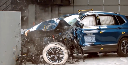 2018 VW Tiguan Crash Test & Rating