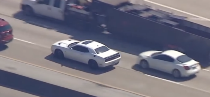 Dodge Challenger Hellcat Police Chase – Video