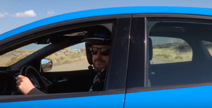 Ford Performance Drift Stick Tested By Ken Block