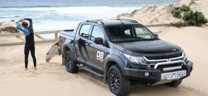 Holden/Chevy Colorado Z71 Crew Cab Surf Truck – Video