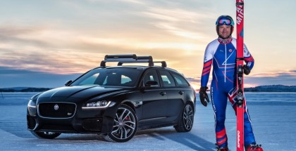 Jaguar XF Sportbrake Towing World Record