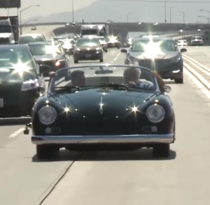 Jay Leno Review Of Extra Wide 1959 Porsche 356 By West Coast Customs (2)