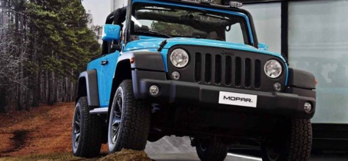 Jeep Wrangler Rubicon Performance Mopar One Pack – 4×4 Fest 2017 – Video