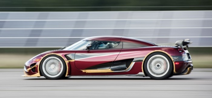 Koenigsegg Agera RS 0-400 km/h – Video
