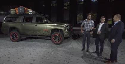 Luke Bryan Chevy Suburban Concept Unveiling