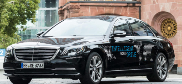 Mercedes Intelligent World Drive – Video