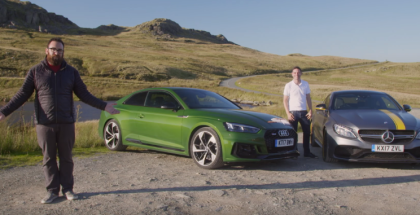 Motor Trend 2018 Audi RS5 vs 2017 Mercedes-AMG C63 S Coupe (1)