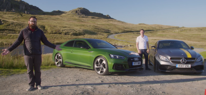 Motor Trend 2018 Audi RS5 vs 2017 Mercedes-AMG C63 S Coupe – Video