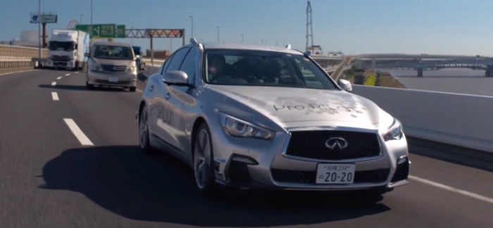 Nissan Tests INFINITI Q50 Self Driving Autonomous Technology – Video
